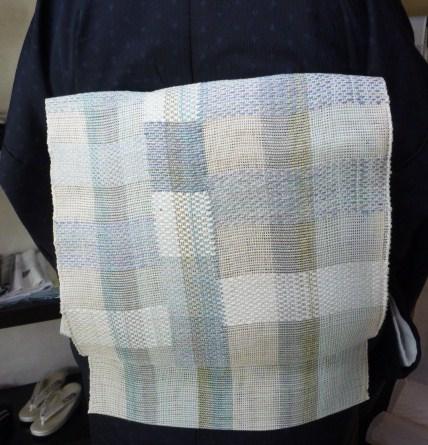 北九州からのお客様と単衣の装い2パターン。_f0181251_1752173.jpg