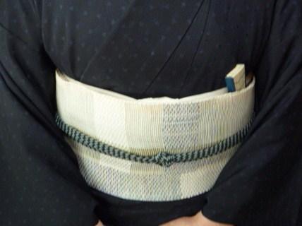 北九州からのお客様と単衣の装い2パターン。_f0181251_176396.jpg