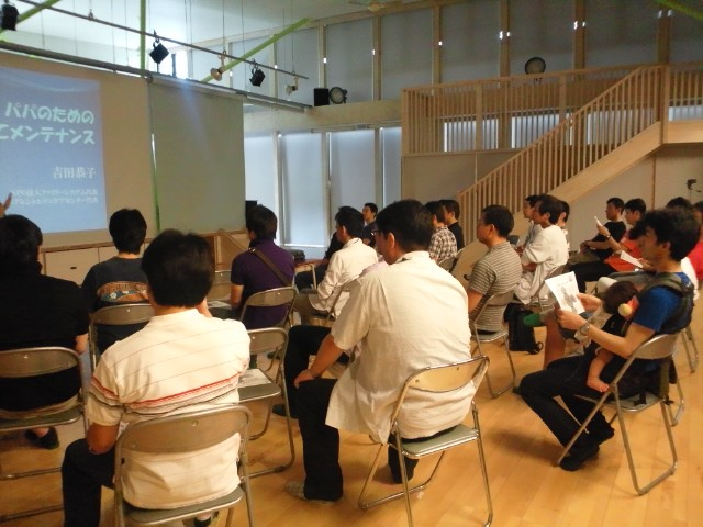 第一回パパ講座開催 inかしの木幼稚園_b0108363_2016283.jpg
