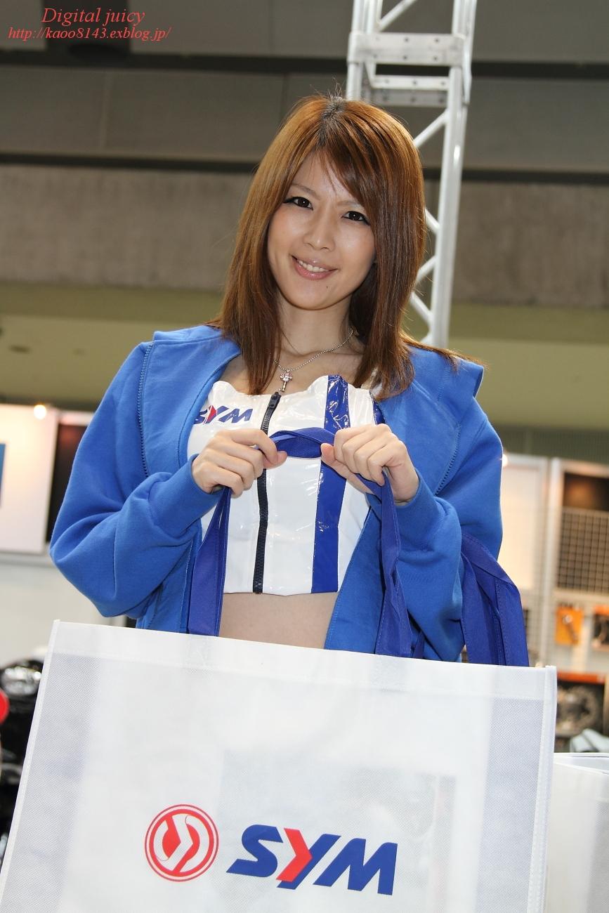 三咲舞花 さん(株式会社エムズ商会(SYM) ブース)_c0216181_18551059.jpg