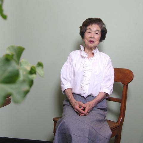 今度モデルをお願いしました 90歳の 鮫島純子さま_c0126189_15581447.jpg