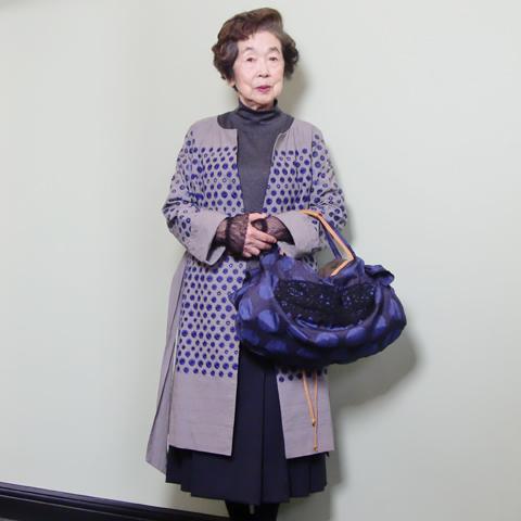 今度モデルをお願いしました 90歳の 鮫島純子さま_c0126189_15582673.jpg