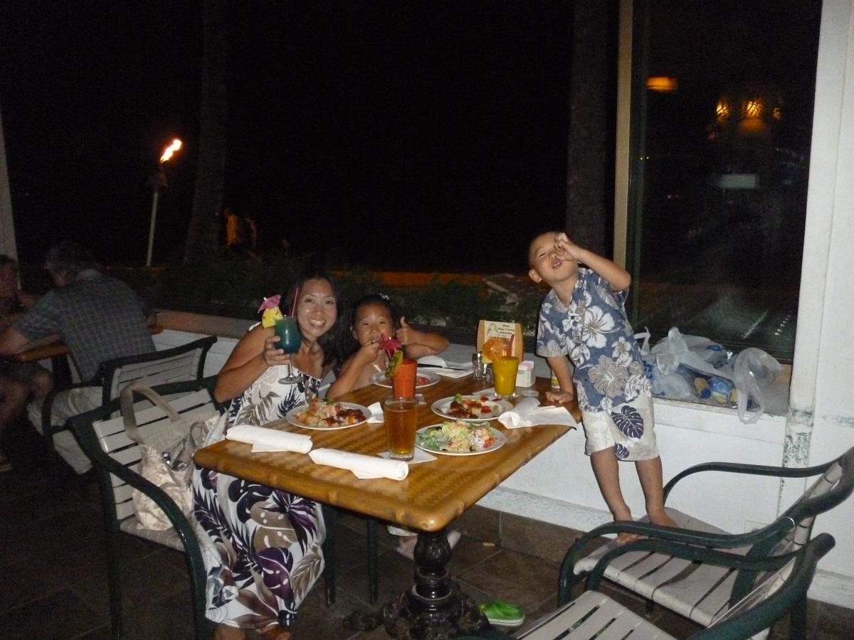 2011~12HAWAIIカウントダウン旅行記~最後の晩餐ショアバード~_f0011498_10343845.jpg