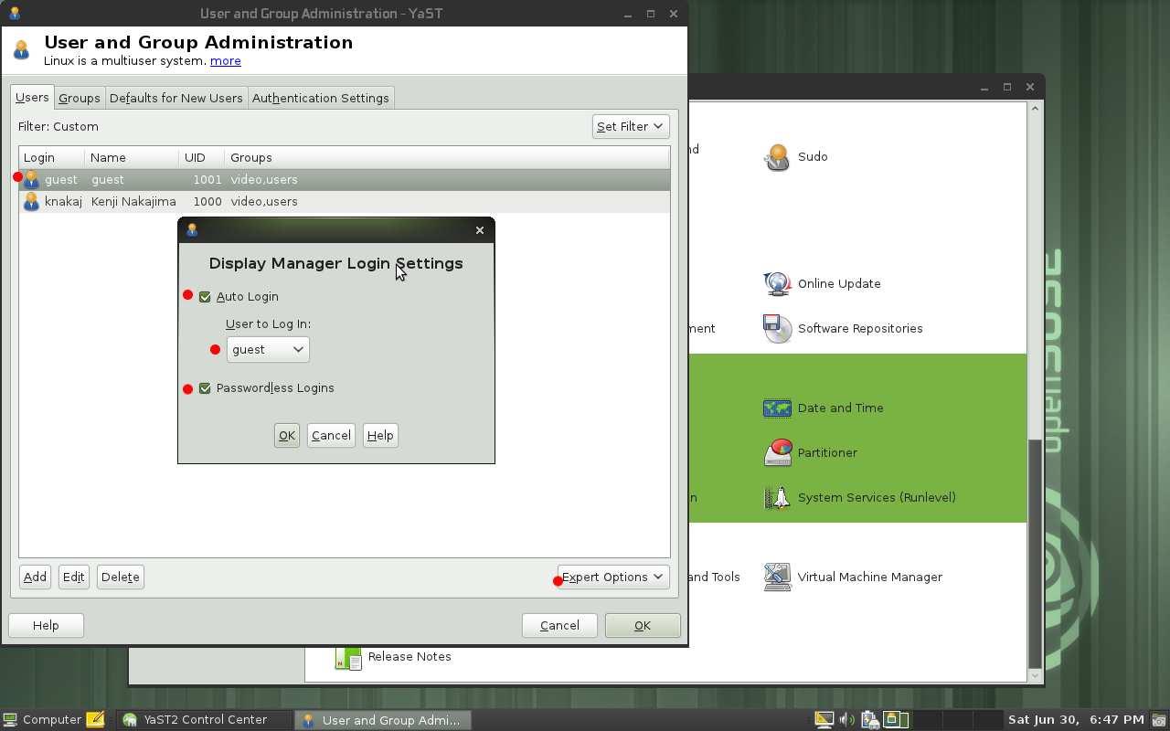 openSUSE で作るシンクライアント_a0056607_9123889.jpg