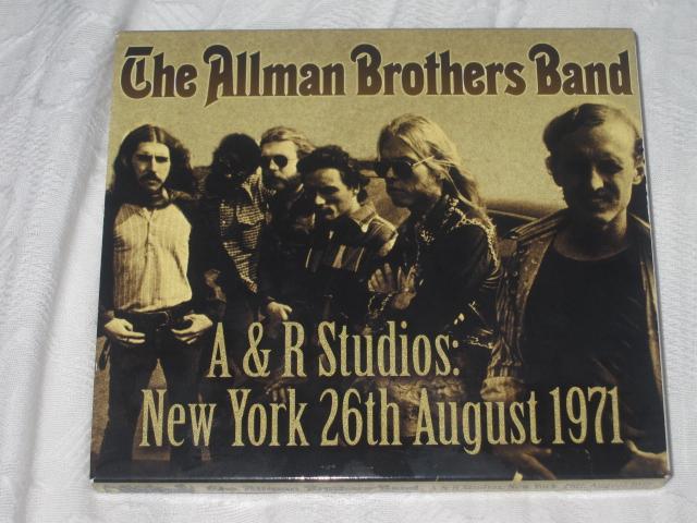 THE ALLMAN BROTHERS BAND / A & R STUDIOS:NEW YORK,26TH AUGUST 1971_b0042308_17854.jpg