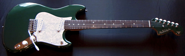 「Ever Green MetallicのPsychelone 1本目」が完成〜!!!_e0053731_2015327.jpg
