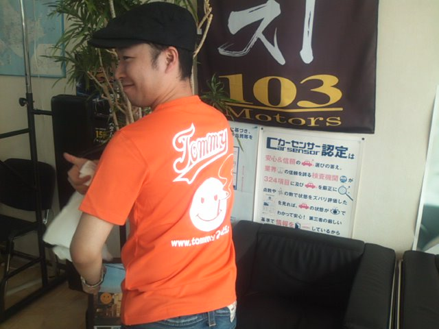 ランクルトミー札幌店(^o^)_b0127002_15371768.jpg
