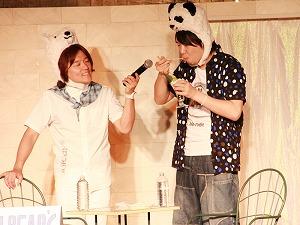 「しろくまカフェ トークショーinナムコ・ナンジャタウン」_e0025035_11211973.jpg