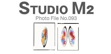 STUDIO M2 Photo File No.093「羽 ステンドグラス」_a0002672_18193648.jpg