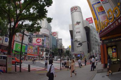 7月3日(火)今日の渋谷109前交差点_b0056983_1502879.jpg