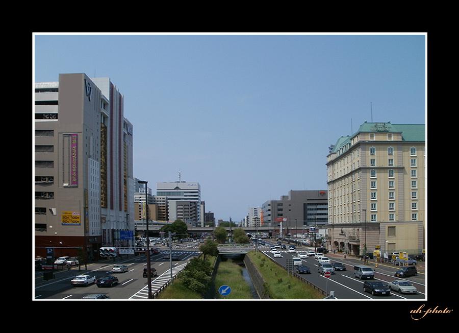 石狩街道、北3条陸橋から見た風景_b0181889_611970.jpg