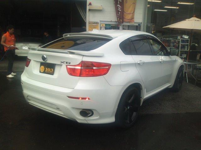 BMW X6 ハーマン仕様入庫(^^) HAMANN_b0127002_1536321.jpg