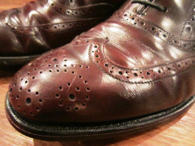 "Used SHOES ""WING TIP\"" ご紹介_f0191324_10173481.jpg"