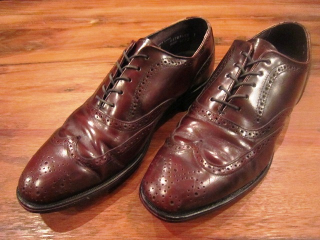 "Used SHOES ""WING TIP\"" ご紹介_f0191324_10174053.jpg"
