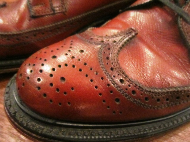 "Used SHOES ""WING TIP\"" ご紹介_f0191324_10184790.jpg"