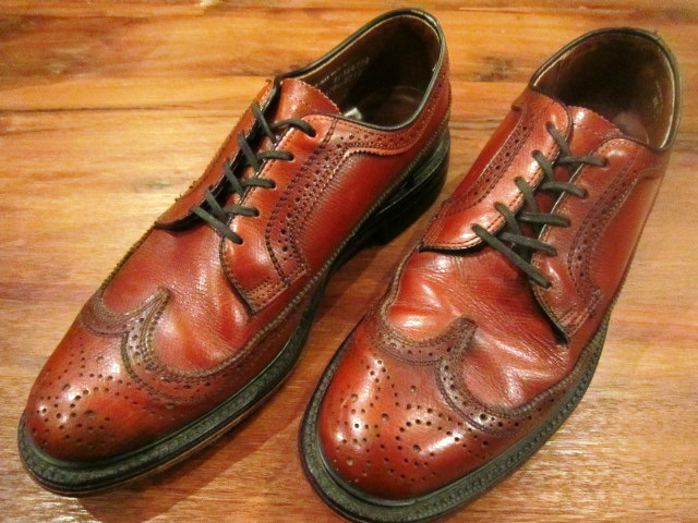 "Used SHOES ""WING TIP\"" ご紹介_f0191324_10185498.jpg"