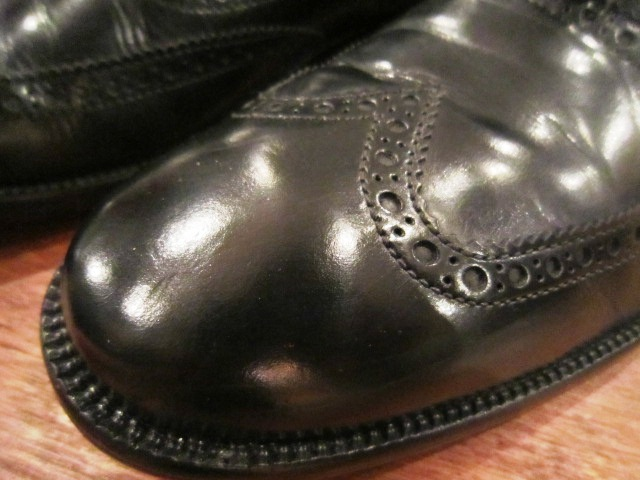 "Used SHOES ""WING TIP\"" ご紹介_f0191324_10193157.jpg"
