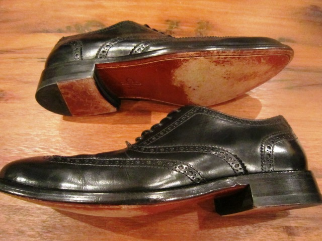 "Used SHOES ""WING TIP\"" ご紹介_f0191324_10194482.jpg"