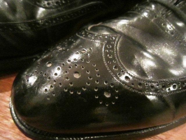 "Used SHOES ""WING TIP\"" ご紹介_f0191324_10201665.jpg"