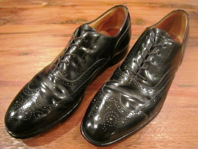 "Used SHOES ""WING TIP\"" ご紹介_f0191324_10202269.jpg"