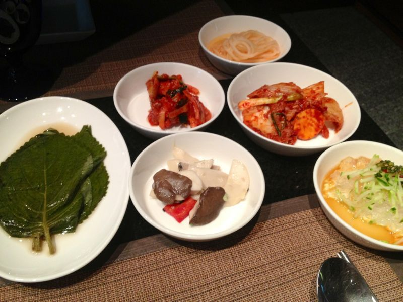 韓国最後の夜 ✩ プルコギディナー_c0151965_1655828.jpg
