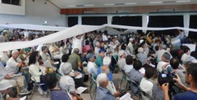 高江座り込み5周年集会-全基地閉鎖の知事発言にどよめき_f0150886_1219475.jpg