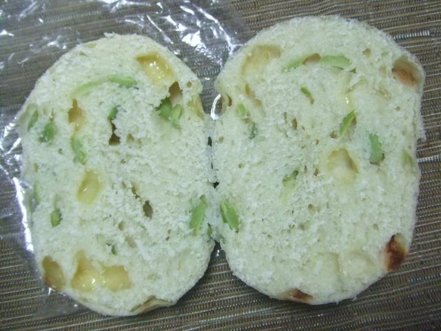 白楽ベーグル 枝豆&チーズ_f0076001_2335642.jpg