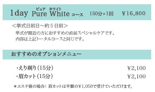 京都OHBL ブライダルエステティック_f0046418_1043954.jpg