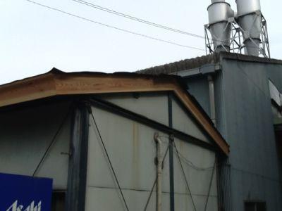 吉野工場 休憩室の屋根改修工事_c0124828_241944.jpg