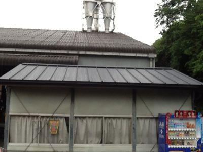 吉野工場 休憩室の屋根改修工事_c0124828_242052.jpg