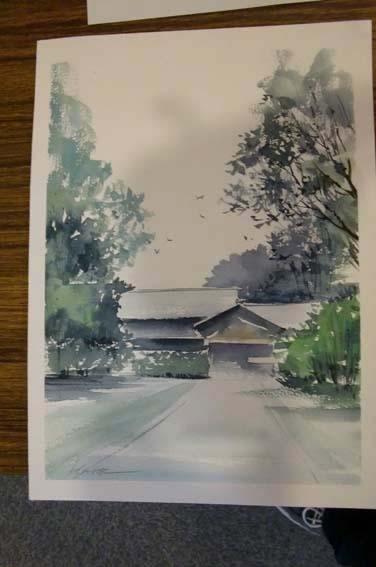 生徒作品 展示中_f0176370_1762716.jpg