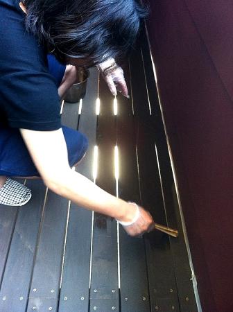 バルコニーの床塗り替え_a0133078_954951.jpg