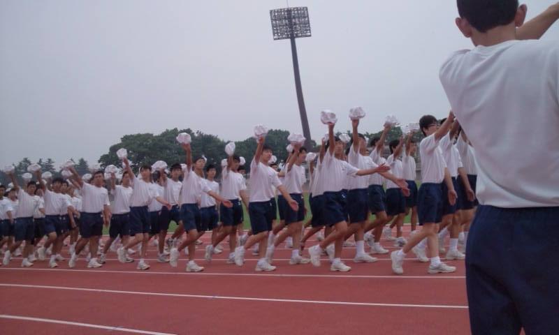 前橋市中学校総合体育大会開会式...