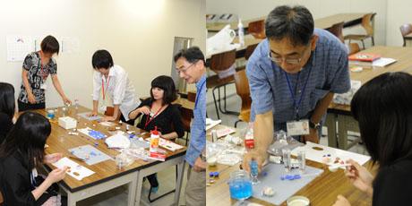 2012年7月7日,8日にNSCカレッジでは体験入学が開催 その1_b0110019_15572611.jpg