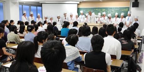 2012年7月7日,8日にNSCカレッジでは体験入学が開催 その2_b0110019_1629273.jpg