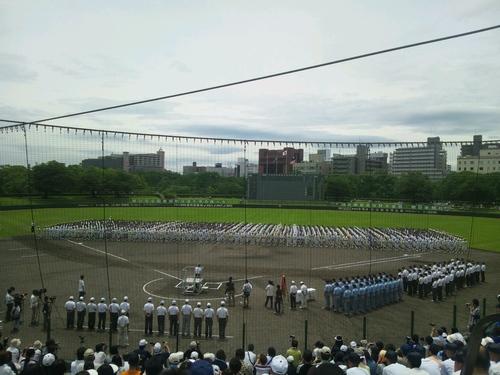 第94回全国高校野球兵庫大会開会式なう!_e0158128_1131261.jpg