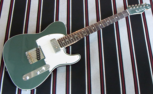 「Jade Green MetallicのSTD-T 4本目」が完成しました! _e0053731_1905589.jpg