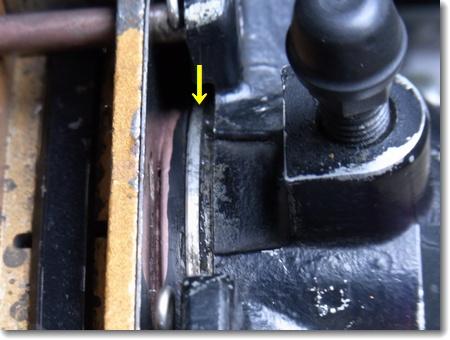 リヤブレーキのダストブーツつけ直し_c0147448_16233372.jpg