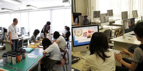 2012年7月7日,8日にNSCカレッジでは体験入学が開催 その4_b0110019_16193369.jpg