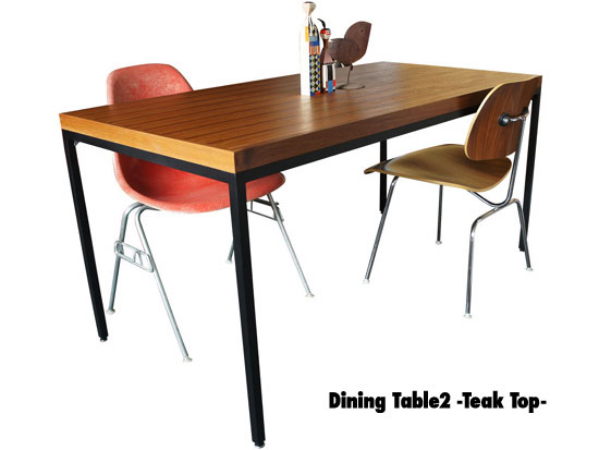 Dining Table2 -Teak Top-_a0161631_1426645.jpg