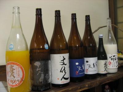 七夕の日のお酒の会_f0006356_16312521.jpg