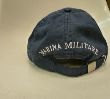 Marina Militare(マリーナミリターレ)ネイビーキャップ。_c0118375_22401436.jpg