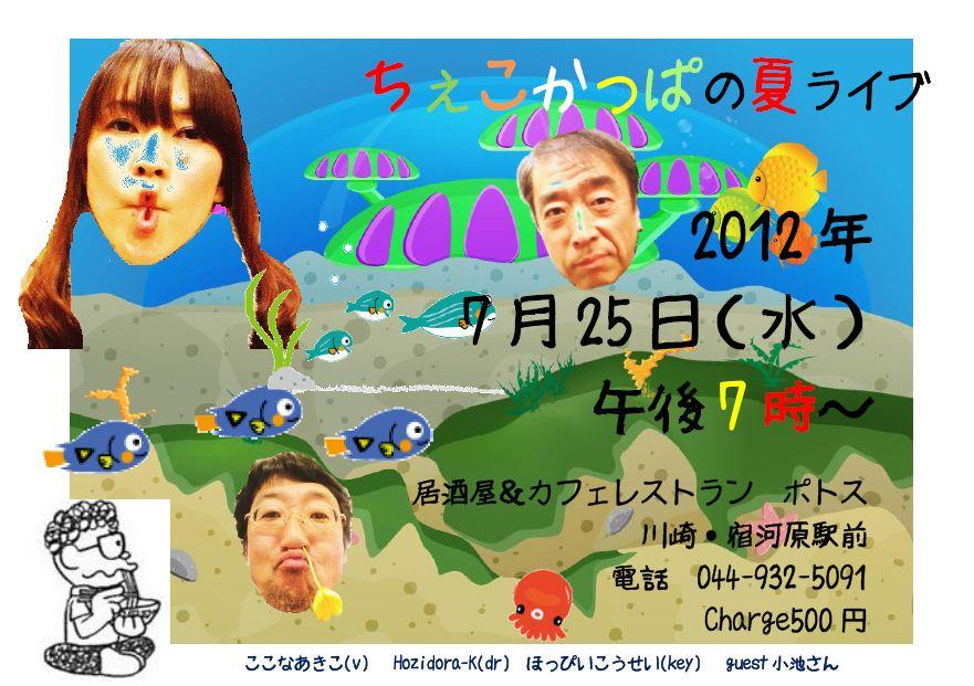 25日(水) ちぇこかっぱ夏ライブ_a0163788_1347631.jpg
