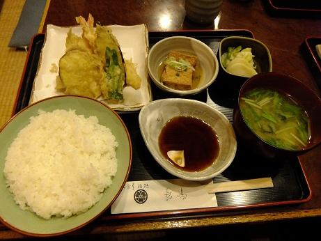 季節料理 長嶋@新橋の天ぷら定食_d0044093_4361079.jpg