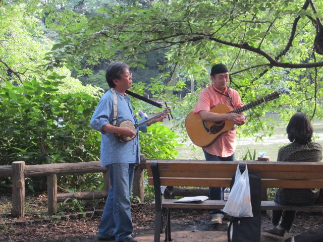 井の頭公園/Le park d`Inokashira_d0070113_0253130.jpg