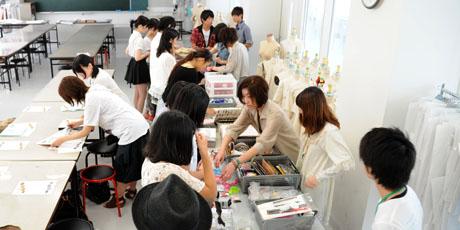 2012年7月7日,8日にNSCカレッジでは体験入学が開催 その5_b0110019_16191955.jpg