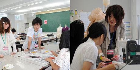 2012年7月7日,8日にNSCカレッジでは体験入学が開催 その5_b0110019_16192590.jpg