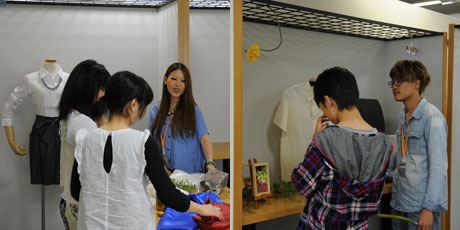 2012年7月7日,8日にNSCカレッジでは体験入学が開催 その5_b0110019_16195571.jpg