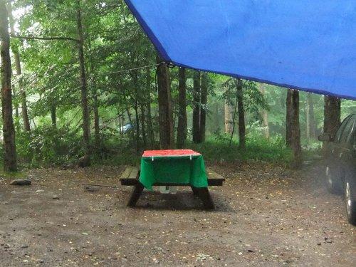 キャンプ2日目 淋しいキャンプグランド_c0064534_14123948.jpg