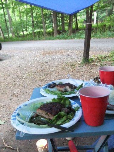 キャンプ2日目 淋しいキャンプグランド_c0064534_1475041.jpg